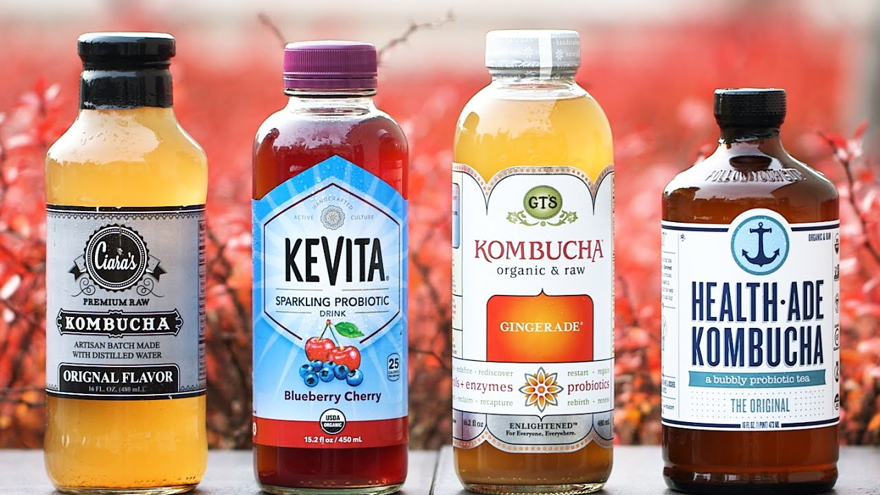 Sabías qué? La kombucha es una bebida gasificada y fermentada……